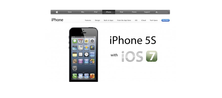 Nasce il nuovo Iphone 5S