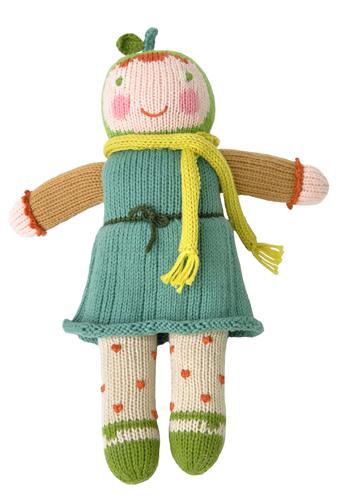 bambola fatta a mano da artigiani in Perù