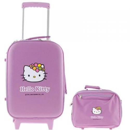 Trolley e beauty case Hello Kitty