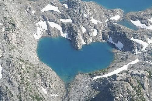 cuore lago