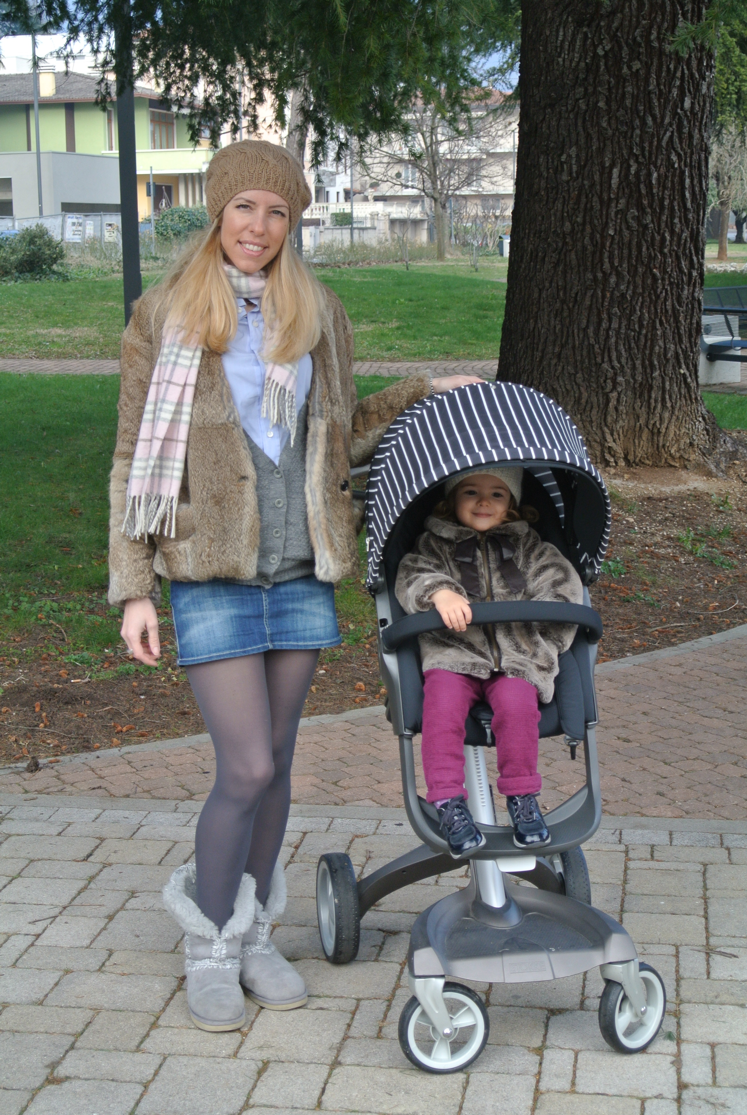 Il nuovo Style Kit dello Stokke è gessato/ The new Style Kit of the Stokke is pinstriped