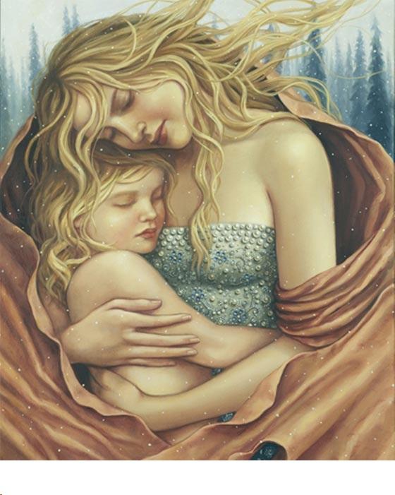 Women-Figurative-Paintings-By-Lauri-Blank-10