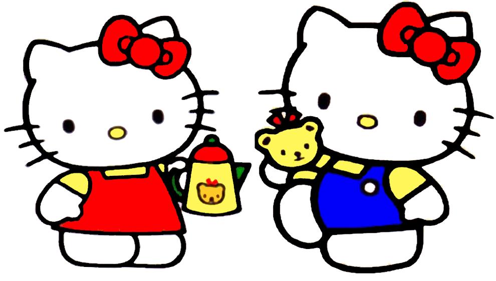 disegno-di-hello-kitty-con-caffe-colorato