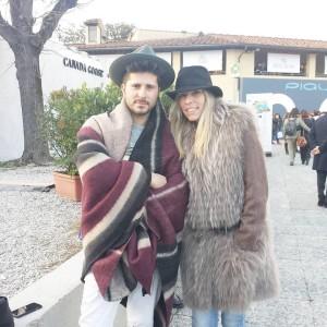 Pitti 2016, with my friends Cesare Morisco