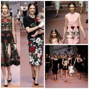 Milano, Parade Dolce&Gabbana