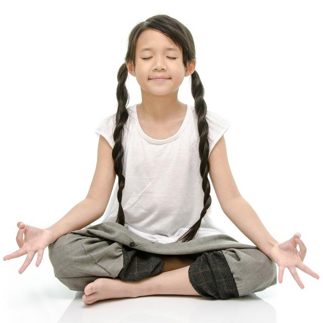 Anche i bambini posso meditare