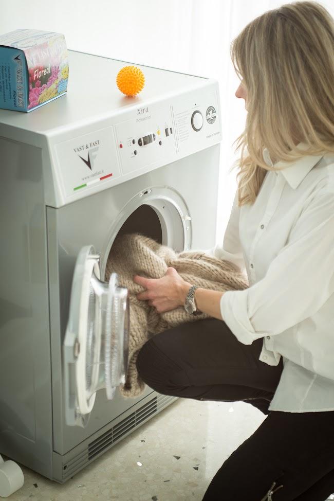 La Vast&Fast l'asciugatrice a gas che aiuta le donne