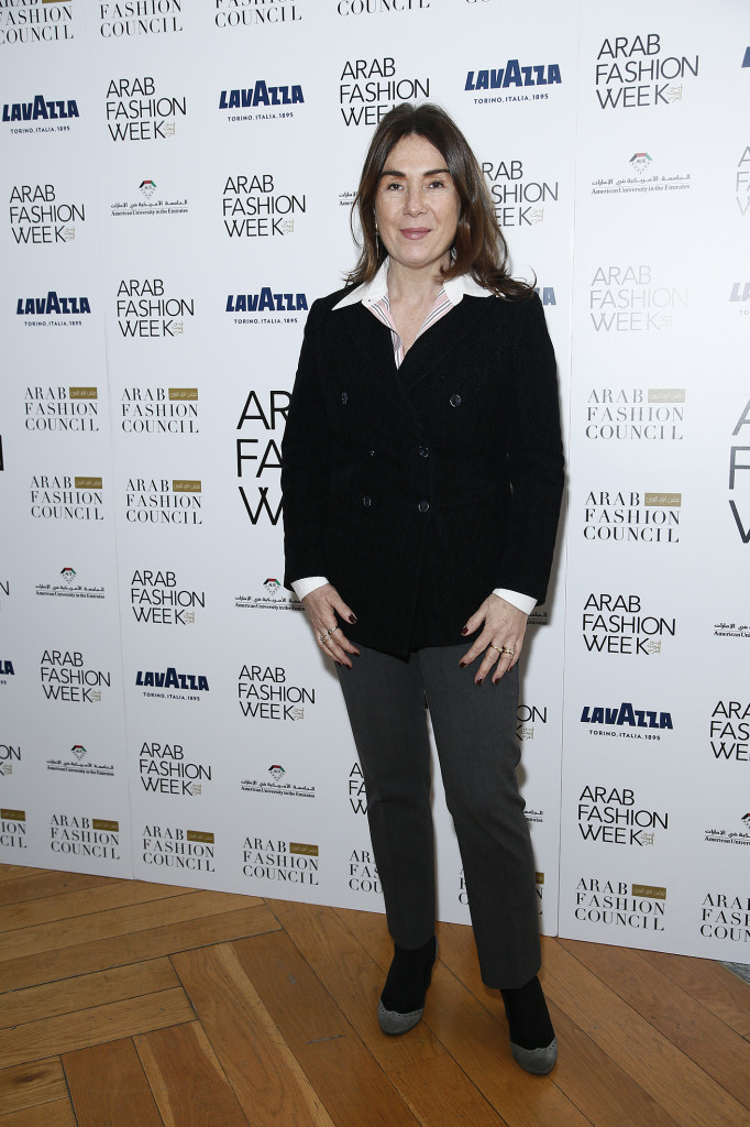 ArabFashion_Press Conference_Alessandra Bianco_Chief Public Relations Officer of Lavazza Group